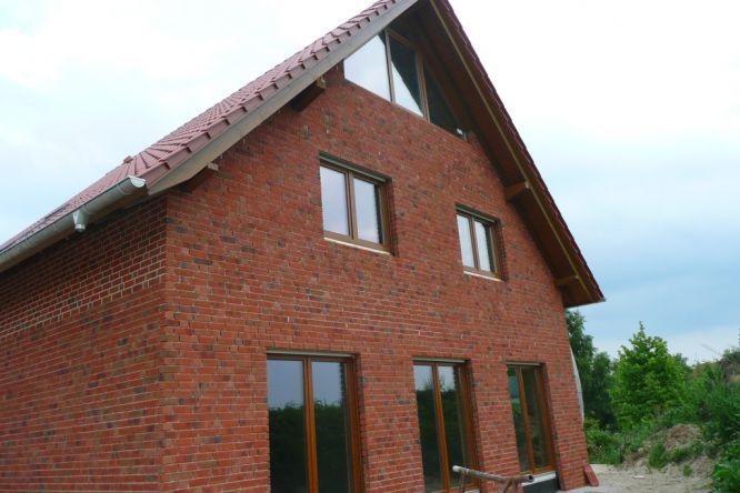 Hausmontage vielst dte holzbau - Einbau fenster klinkerfassade ...
